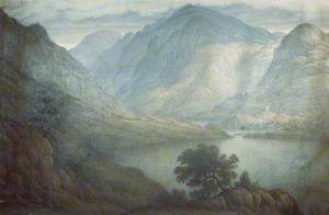Snowdon and Dolbadarn Castle, North Wales