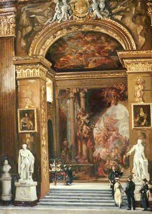 The Interior of the Great Hall, Greenwich