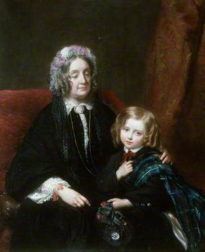 Lady M. E. Hamlyn Williams (1825–1872) and Sir H. Drummond (1859–1924)