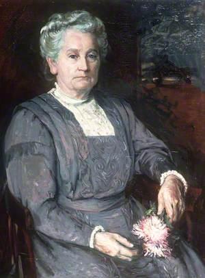 Margaret Edwards, the Artist's Mother