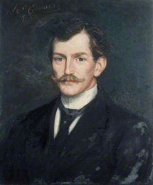 Portrait of a Young Man with a Moustache