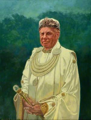 Yr Archdderwydd Emrys Deudraeth (b.1929)