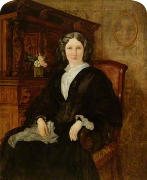 Mrs Eugenie Maria Wynne, née Crowe (1827–1899)