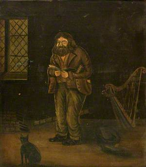 Dick Aber Daron, Old Welsh Poet (Richard Robert Jones, 1780–1843)