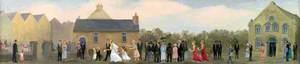Wedding at Seion Chapel, St David's
