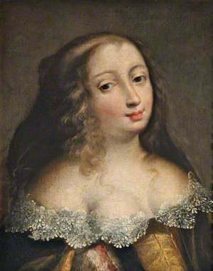 Portrait of a Lady in a Brown Dress