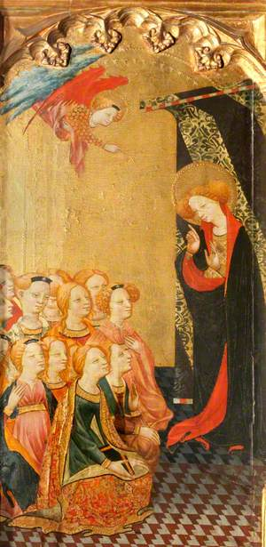 Saint Ursula Preaches to the Virgins