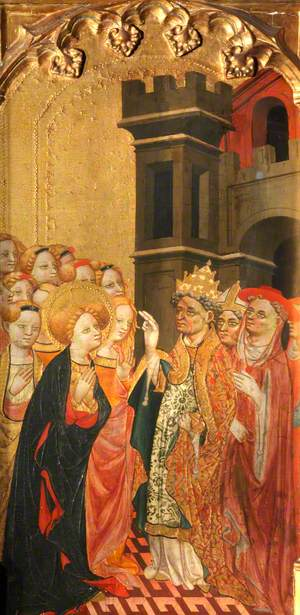 Saint Ursula and the Virgins Arrive in Rome