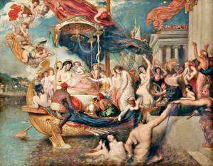 Cleopatra's Arrival in Cilicia