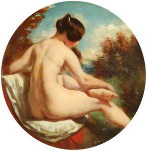Bather Turned to the Right