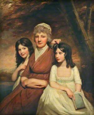 Mrs Peat (b.1748), and Her Daughters (Janet, b.1788, and Anne, c.1790–1885)