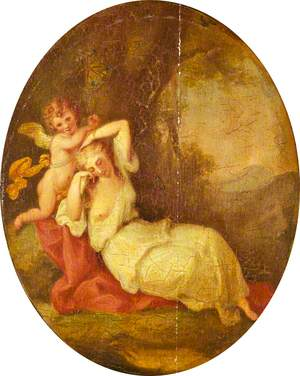 A Nymph and a Cupid