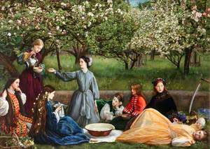 Spring (Apple Blossoms)