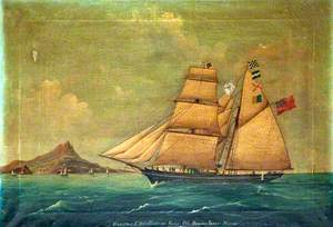 'Hannibal' Entering Naples Bay