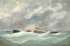 'Knight Errant' in a Storm