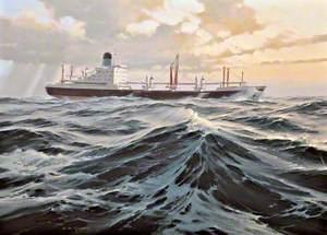 'Priam' at Sea