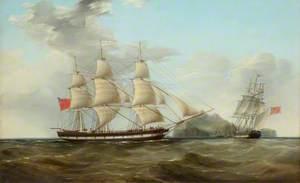 'The Duke' off St Helena