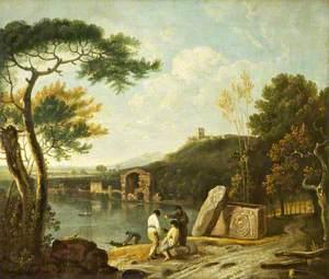 Landscape with Lake Avernus