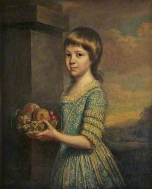 Maria Craven (1769–1851), Later Countess of Sefton, as a Young Girl