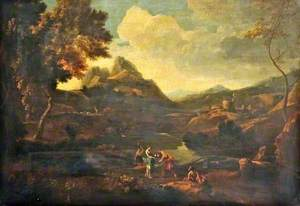 Landscape with Rebecca and Eliezer