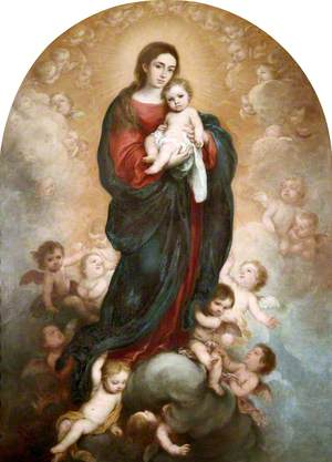 The Virgin and Child in Glory