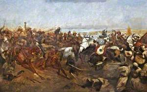 The Charge of the 21st Lancers at the Battle of Omdurman, 2 September 1898