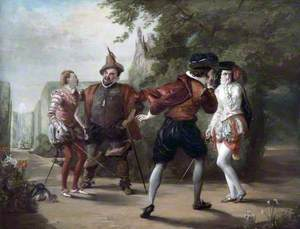 The Duel Scene from 'Twelfth Night' by William Shakespeare