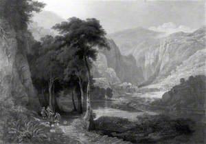 Landscape, Dovedale, Derbyshire
