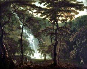 The Powerscourt Waterfall