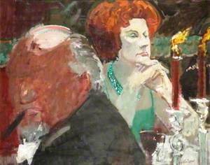 Mrs Barbara Castle at the Royal Academy Banquet