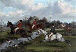 Fox-Hunt, Clearing a Brook