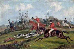 Fox-Hunt, the Death