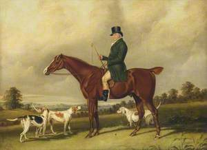 Mr Thomas Rounding, Master of the Essex Forest Hunt