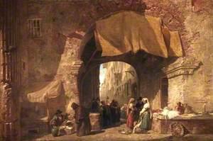 The Pescheria in the Ghetto, Rome