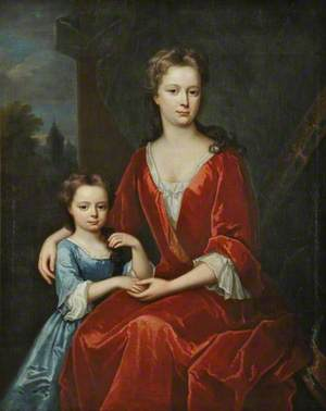 A Lady and a Child