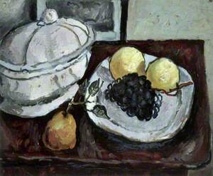 Still Life with a Tureen and Fruit