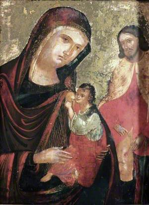The Madonna and Child with Saint Roche