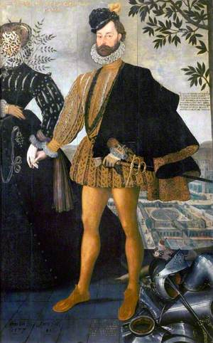 George Delves (d.1604), and a Female Companion