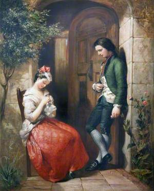 The Bashful Lover and Maiden Coy