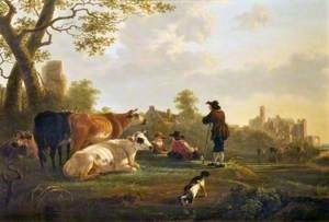 Landscape with Cattle
