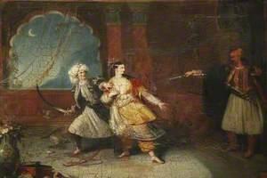 Scene from 'Don Juan'