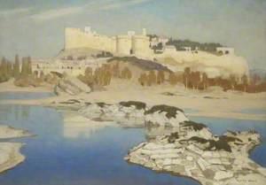 Villeneuve-les-Avignon and Ruins of the Bridge