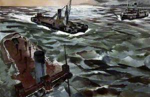 Seacombe Ferry in Wartime