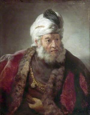 Portrait of a Man in Oriental Dress