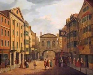Fleet Street and Temple Bar
