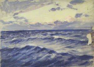 Seascape from the 'Birkdale'