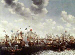 The Four Days Fight, 1–4 June 1666