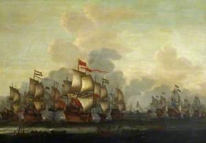 The Four Days Battle, 1–4 June 1666
