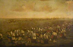 The Battle of the Texel, 11–21 August 1673