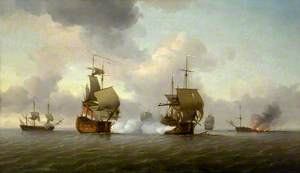 The Capture of the 'Glorioso', 8 October 1747